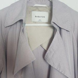 Babaton Jackets & Coats - Aritzia Babaton Lawson Trench Coat Bone XXS
